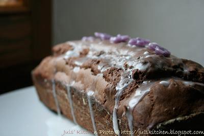 Maya's Extra Dark Plum Cake