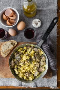 Boiled beef fricassee