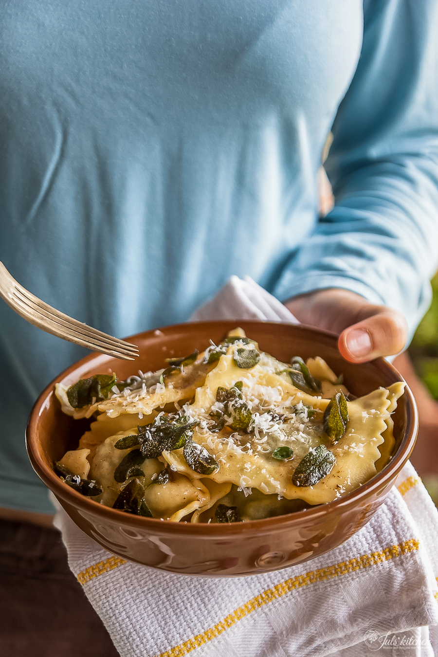 Ricotta And Spinach Ravioli