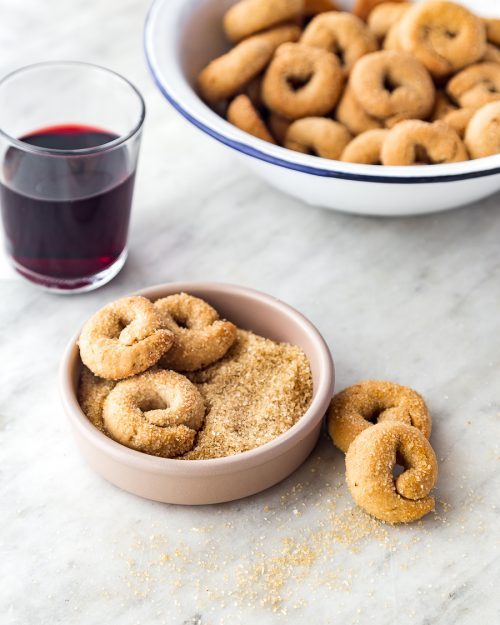Wine And Olive Oil Cookies