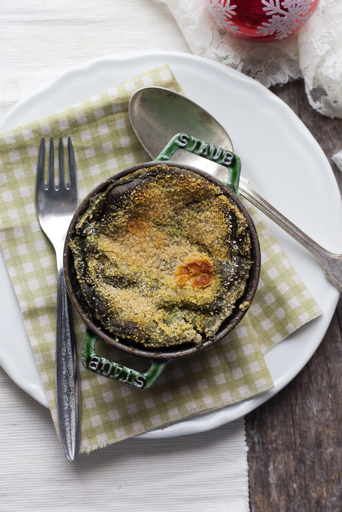 The Spinach Flan Of The Christmas Past