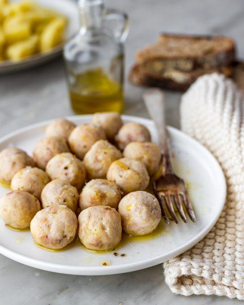 Chicken And Potato Meatballs