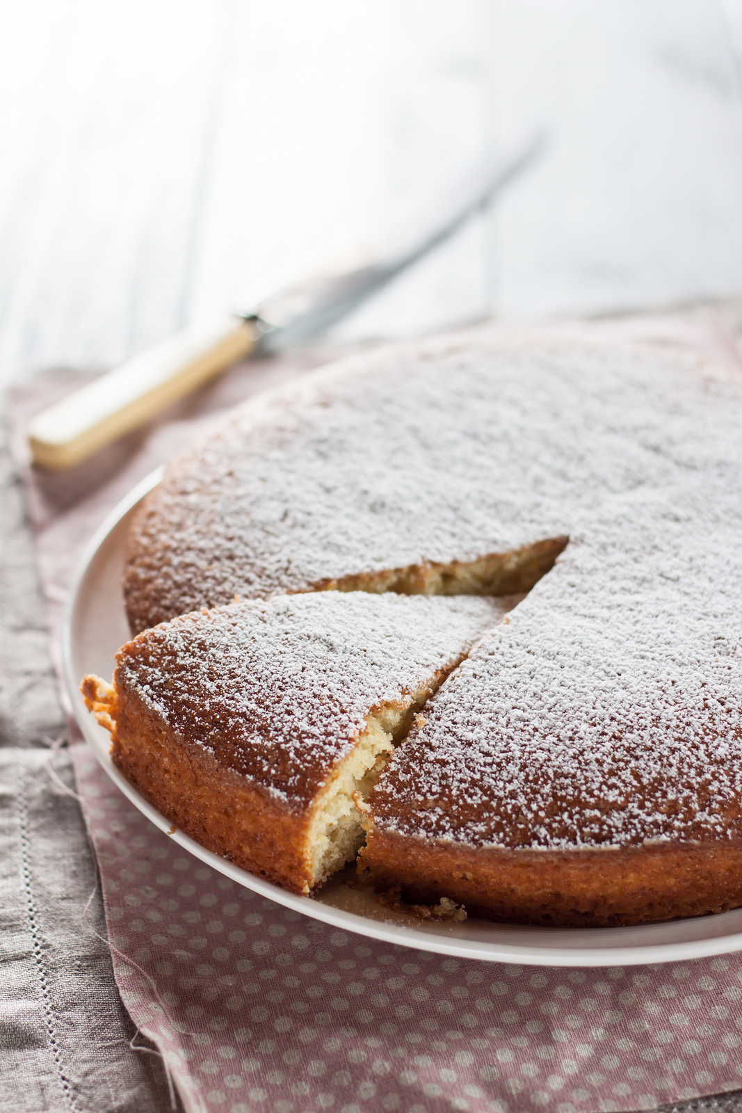 Citrus Yoghurt Cake For Great British Chef