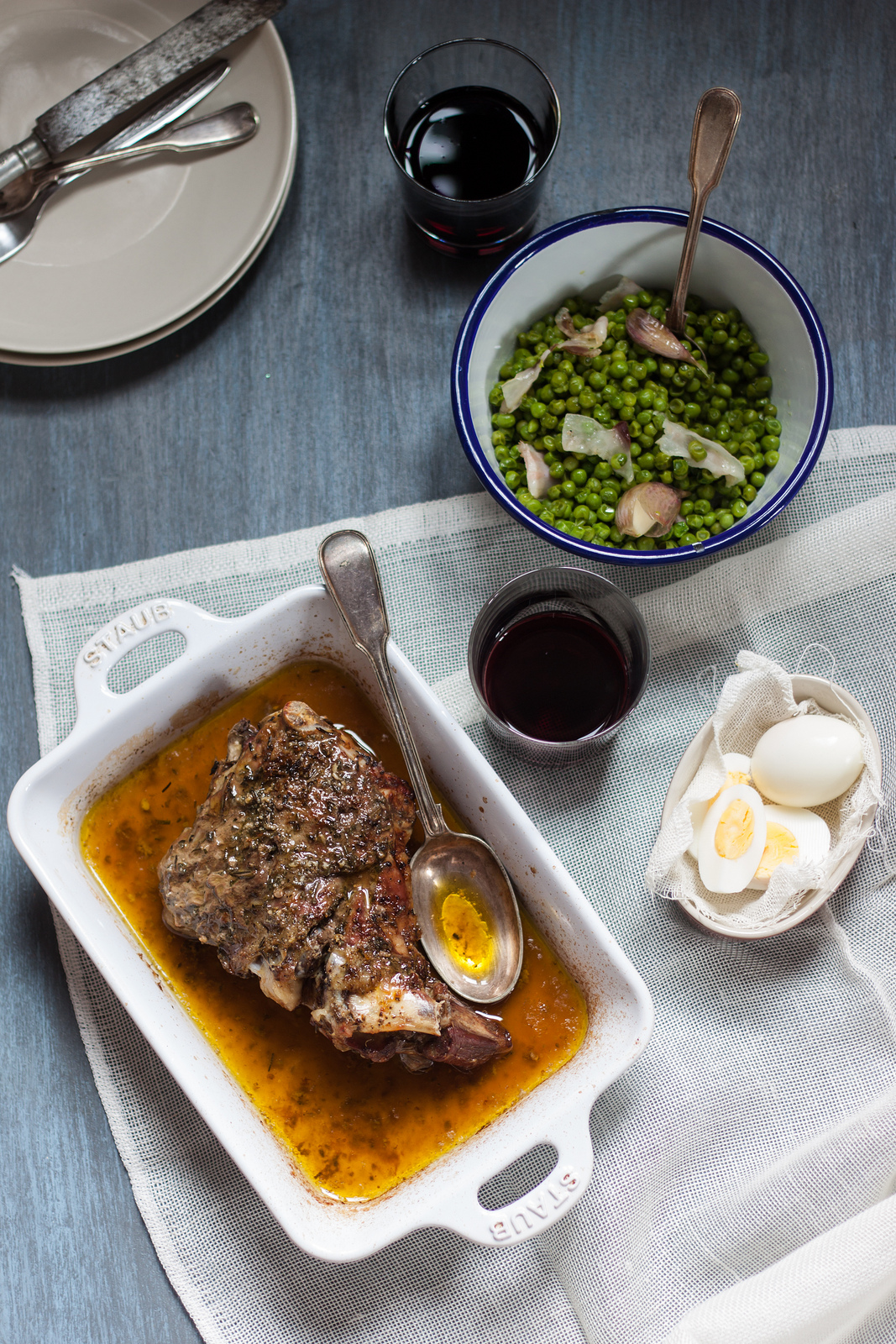 Roasted Lamb And A Tuscan Easter Lunch For The Italian Table Talk