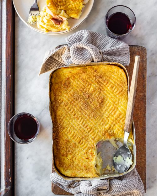 Potato Cheese Gateau