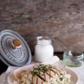 pilaf rice tuna