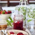 lemon and strawberry jam