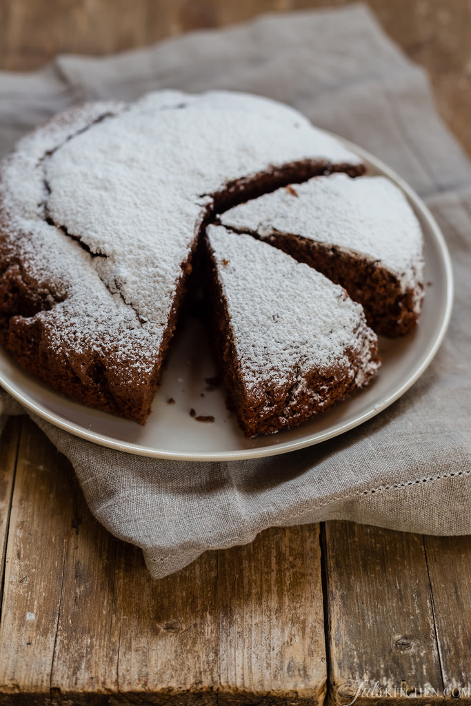 Chocolate And Clementine Olive Oil Cake. My Cake