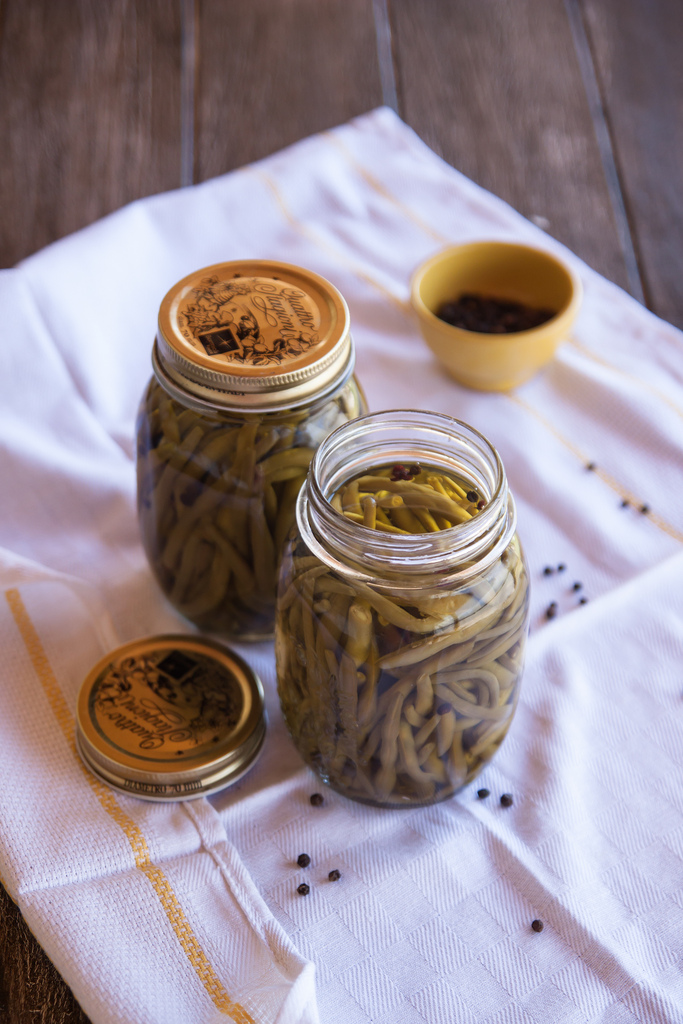 Italian Table Talk: Summer Preserves. French Beans In Oil