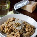 Whole Wheat Pasta With Pistachio Pesto
