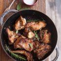 Grandma Menna's Kitchen: Pot Roasted Rabbit