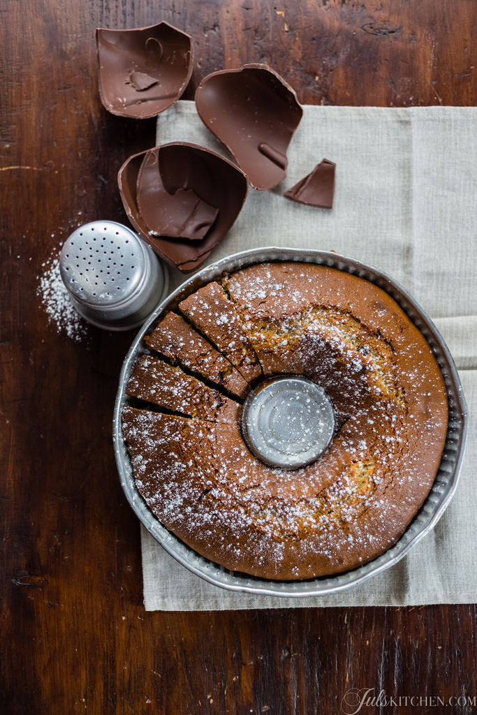 How Do You Use Your Leftover Chocolate? I Made A Tuscan Bundt Cake