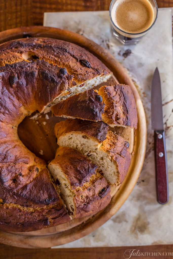 Buccellato From Lucca, An Ancient Sweet Bread