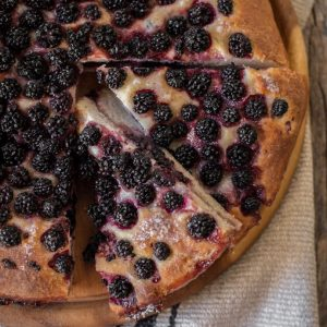 Blackberry Picking In Tuscany And A Blackberry Focaccia