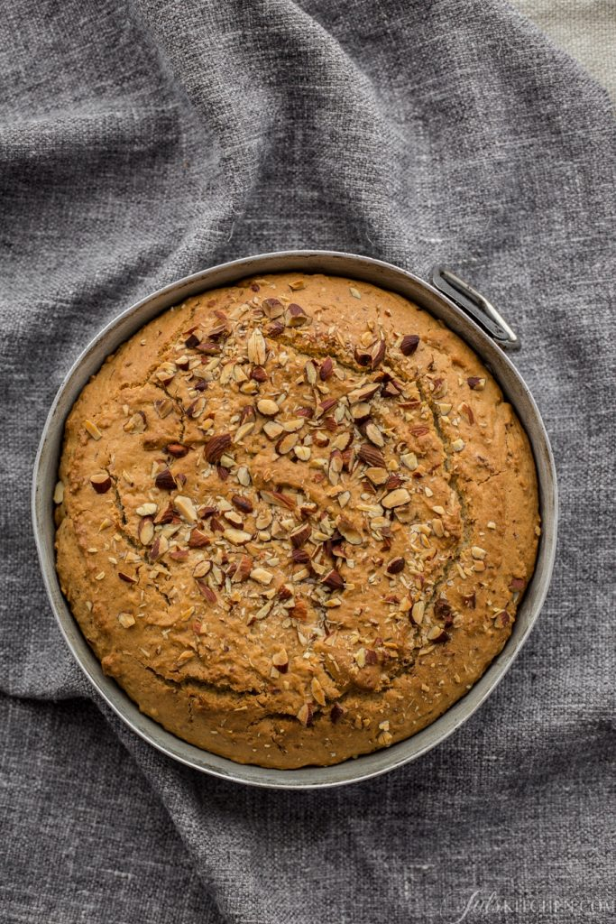 An Almond Cake From The Tuscan Mountains