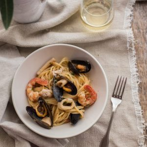 Summer Smells, Memories And Seafood Spaghetti