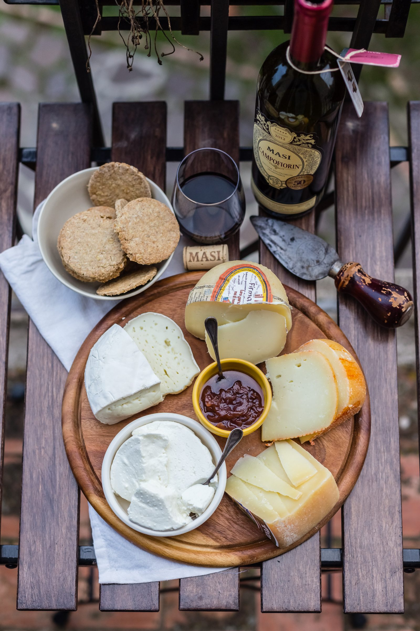 A Cheese Board And My Favourite Tuscan Cheese Farms