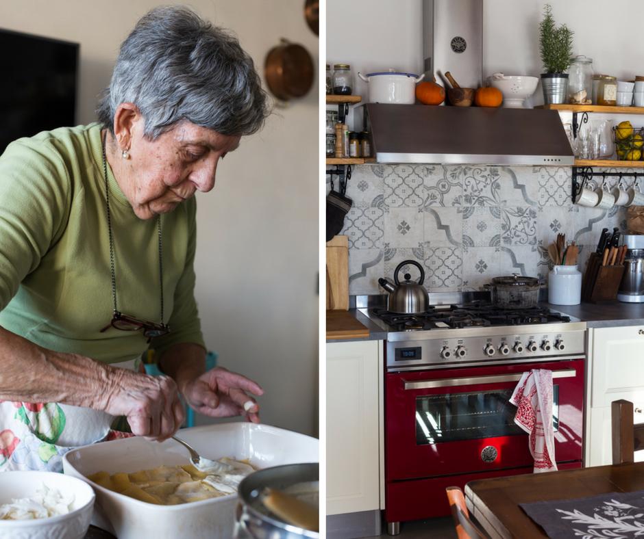 Grandma's cooking