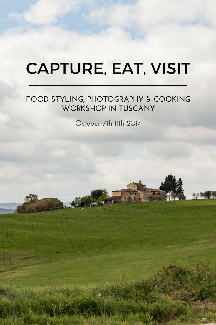 Capture, Eat, Visit! Food Styling, Photography & Cooking Workshop, October 7th-11th 2017