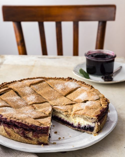 Blueberry And Ricotta Crostata