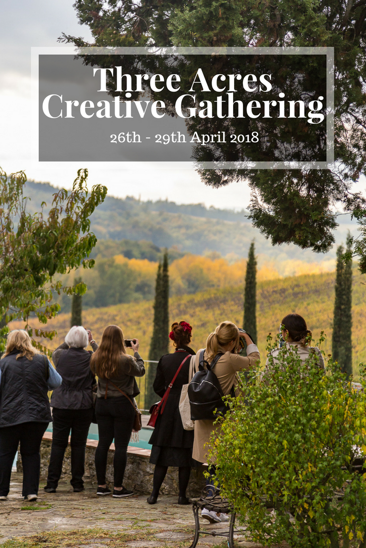 Creative Gathering In Tuscany 2018 | April 26th – 29th