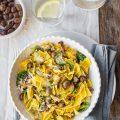 Maltagliati with olives