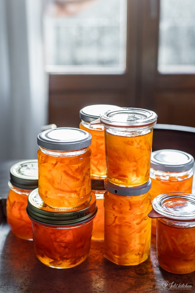 Mixed citrus marmalade