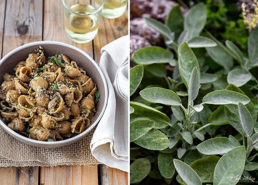 sage ragout, three-ingredient pasta sauce