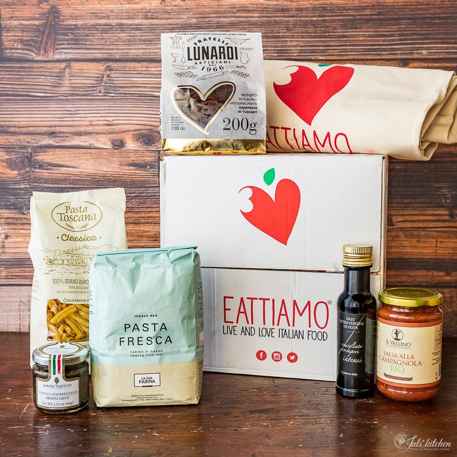 Eattiamo Tuscan food box