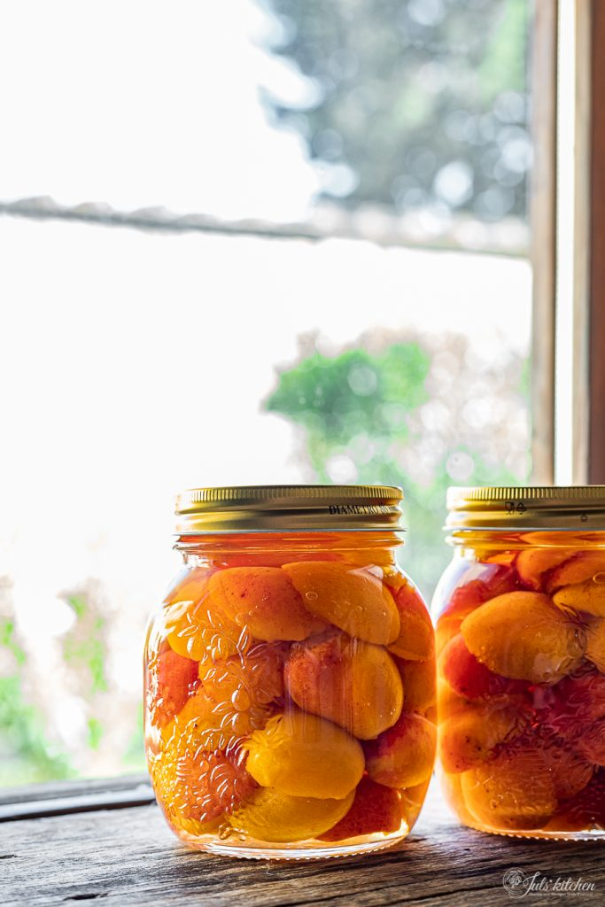 how to preserve apricots