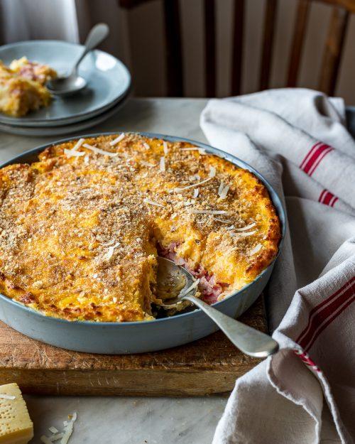 Savoury Butternut Squash Pie