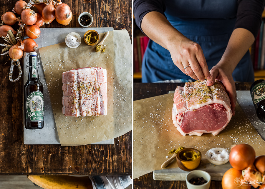Bavarian Beer Roasted Pork