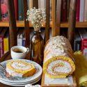 Ricotta Sponge Roll Cake. A Reliable Dessert For Easter